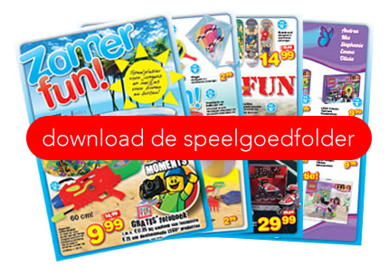 Speelgoed folder
