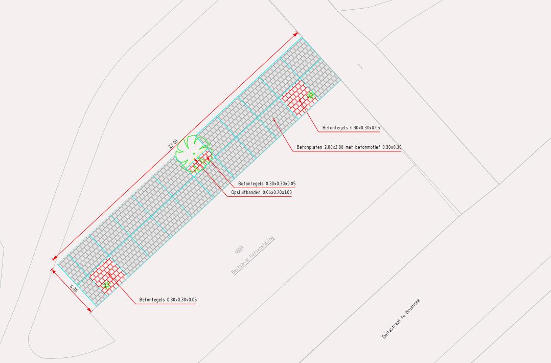 Realisatie uitbreiding van de fietsenstalling bij de bushalte - Bureau van de uitbreiding ...